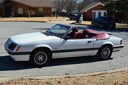 Ford Mustang III 1979 - 1986 Cabriolet #2