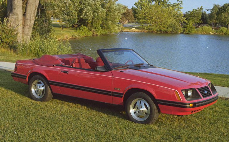 Ford Mustang III 1979 - 1986 Cabriolet #7