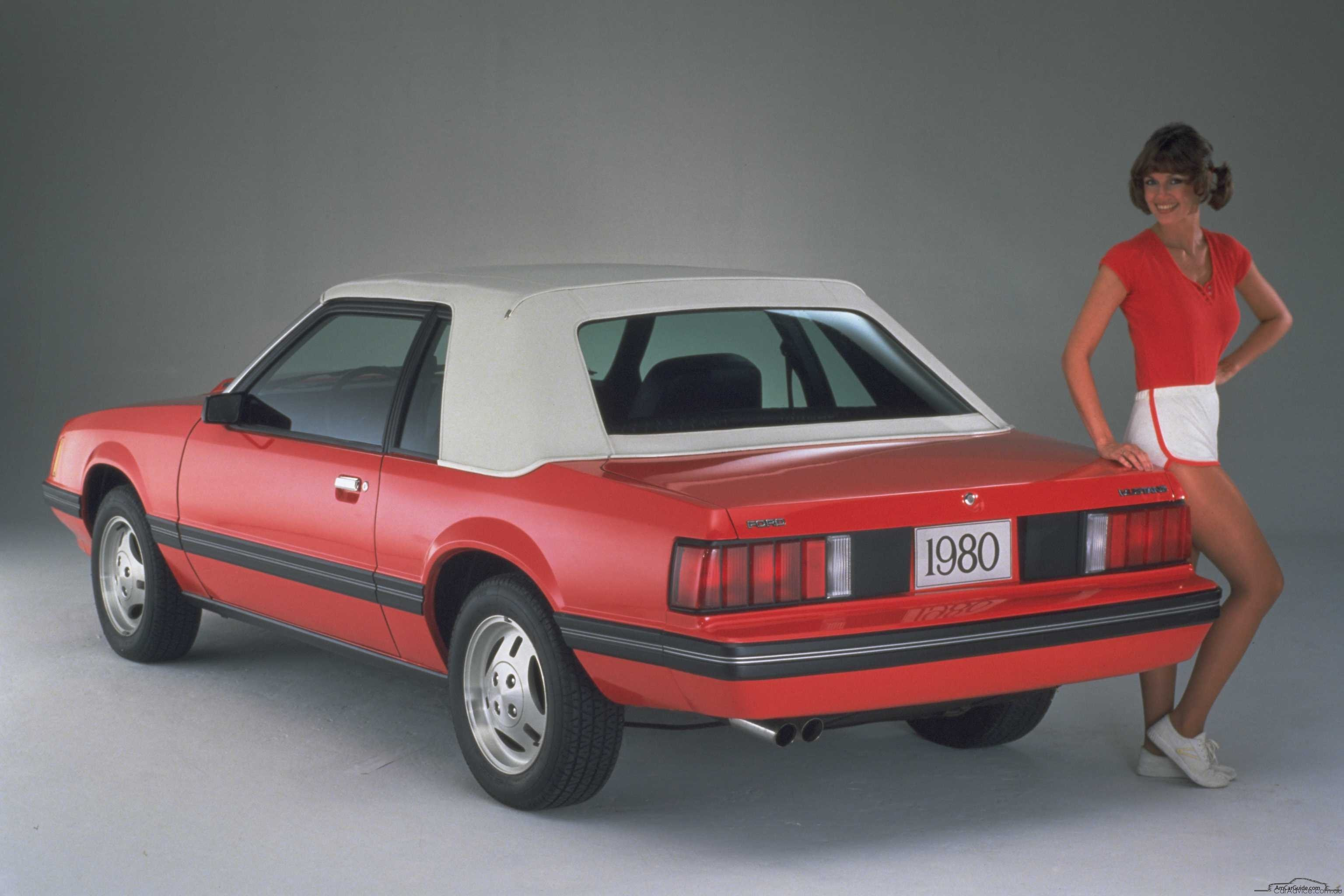 Ford Mustang III 1979 - 1986 Cabriolet #4