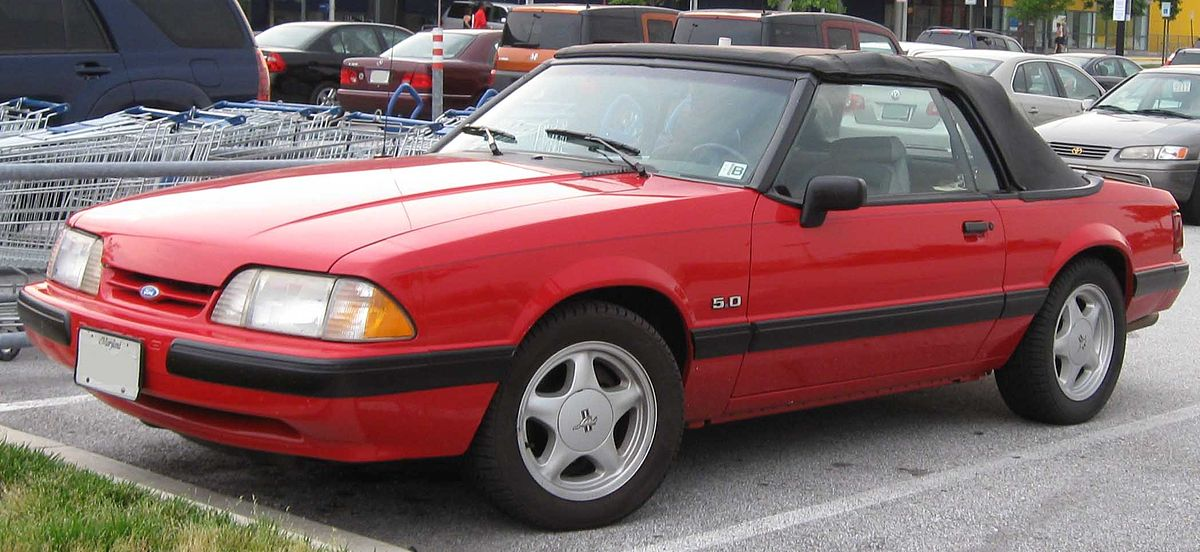 Ford Mustang III 1979 - 1986 Cabriolet #8