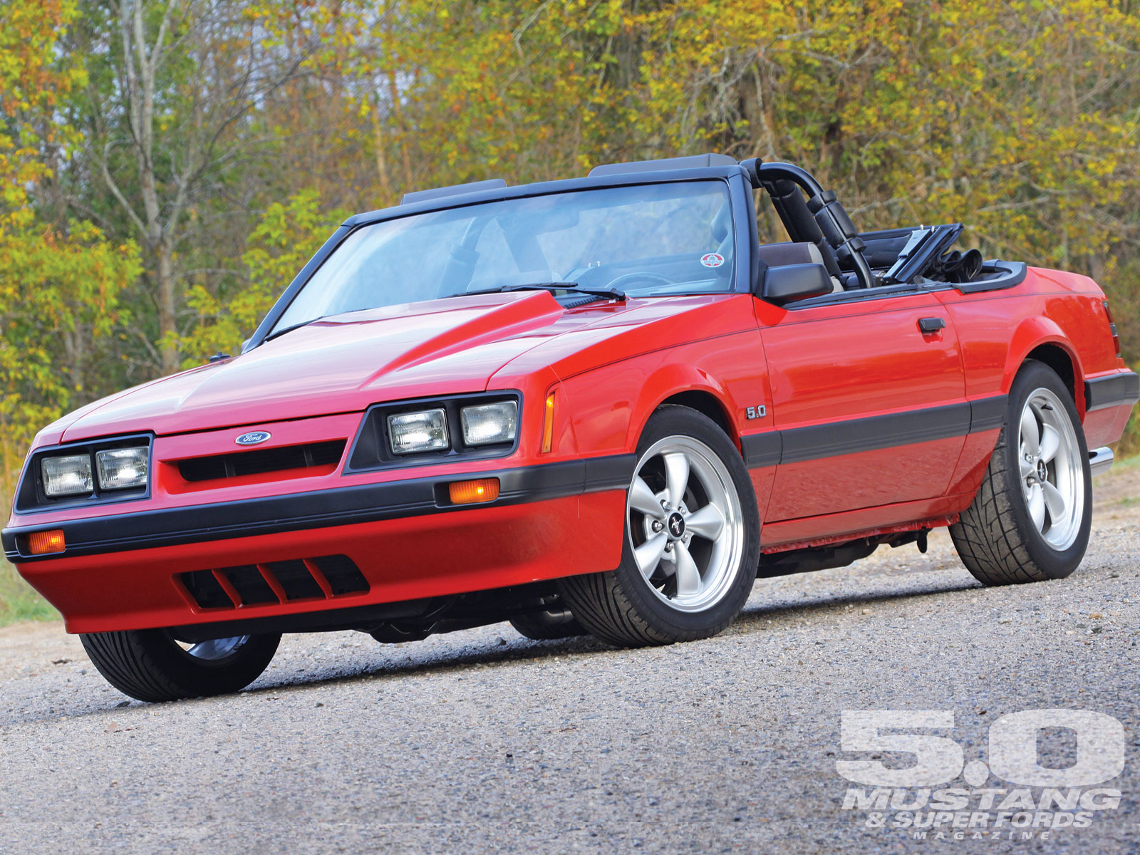 Ford Mustang III 1979 - 1986 Cabriolet #5