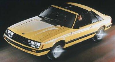Ford Mustang III 1979 - 1986 Hatchback 3 door #1