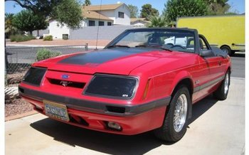Ford Mustang III 1979 - 1986 Cabriolet #1