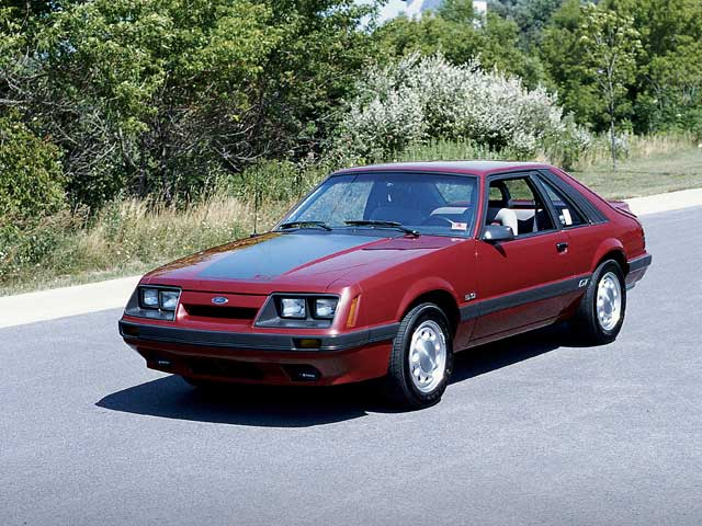 Ford Mustang III Restyling 1986 - 1993 Coupe #7