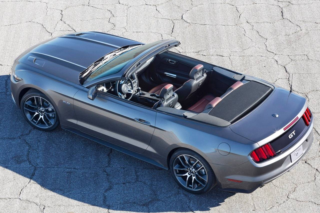 Ford Mustang VI Restyling 2017 - now Cabriolet #7