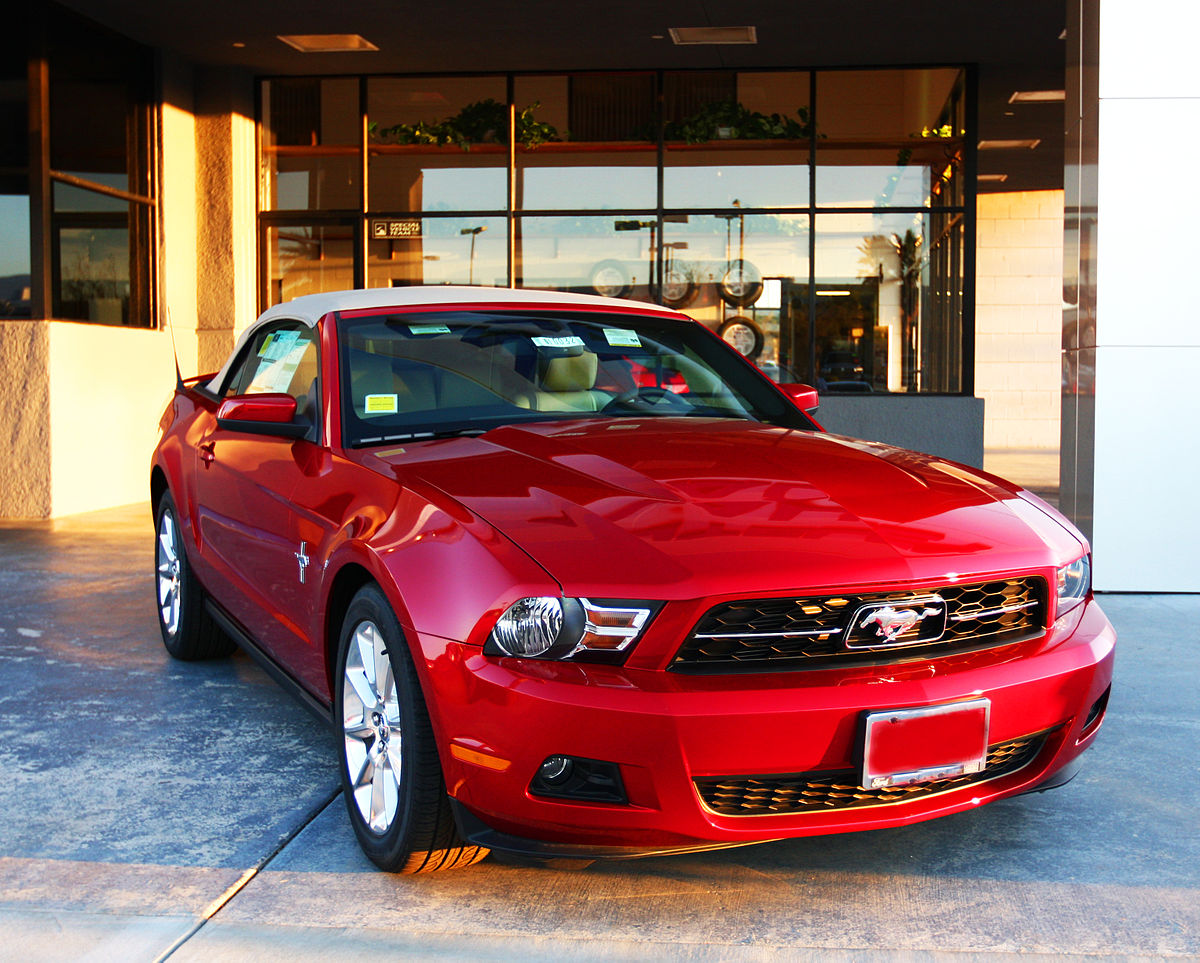 Ford Mustang IV Restyling 1998 - 2004 Coupe #6