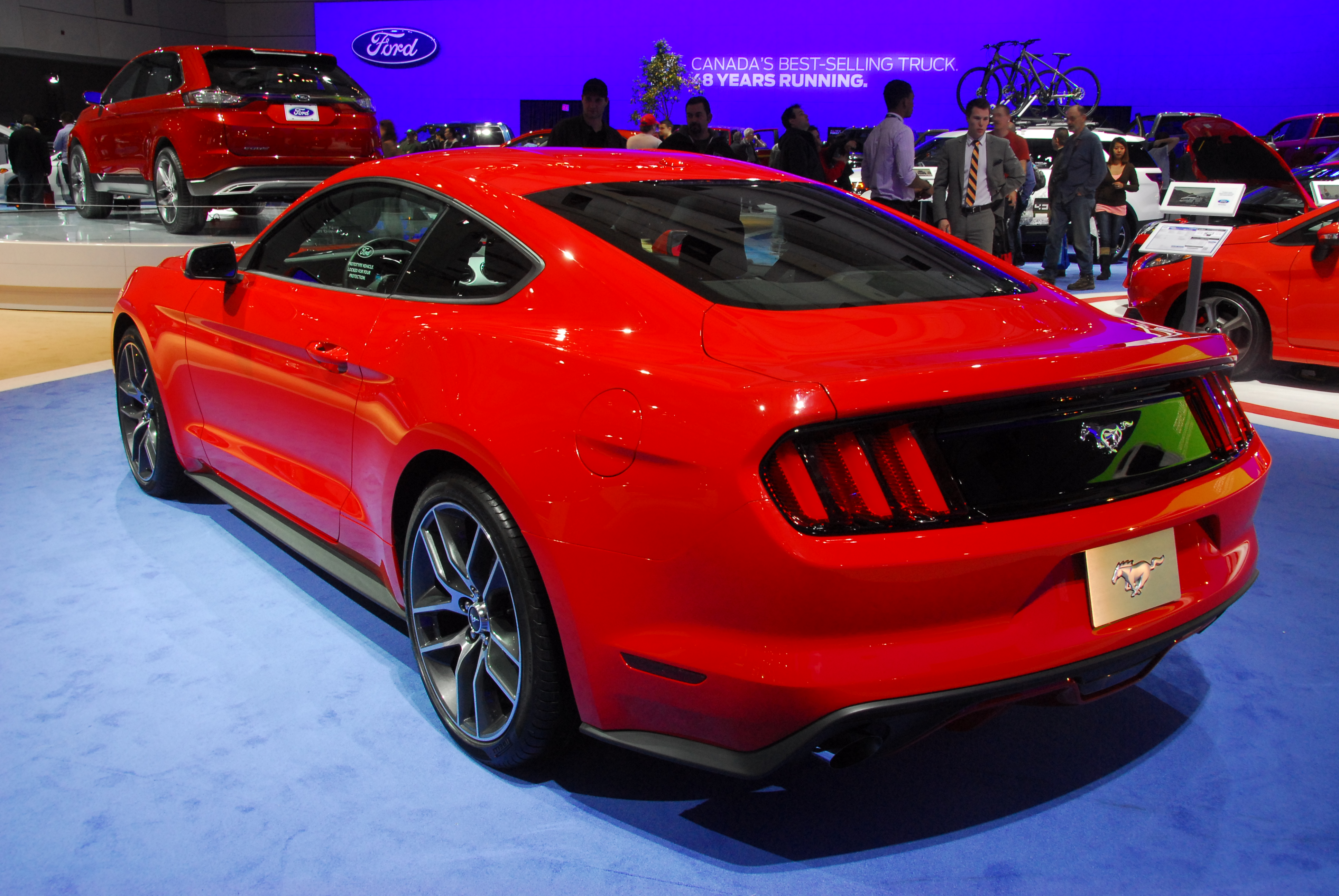 Ford Mustang VI 2014 - now Coupe #2
