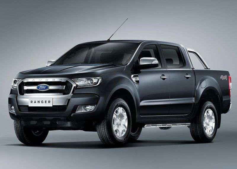 Ford Ranger IV 2015 - now Pickup #8