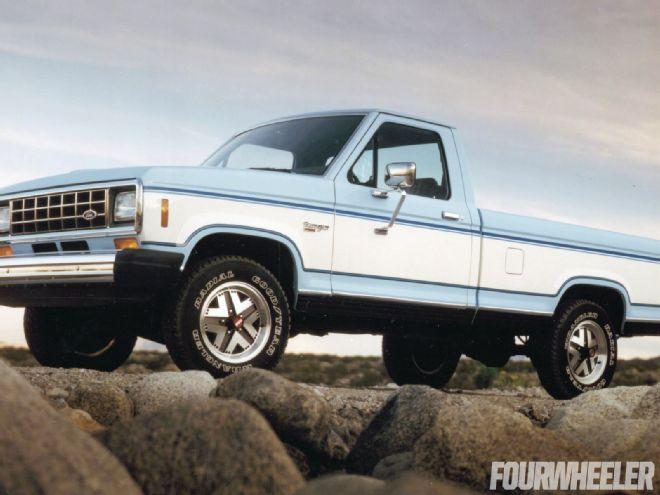 Ford Ranger (North America) I 1983 - 1988 Pickup #5
