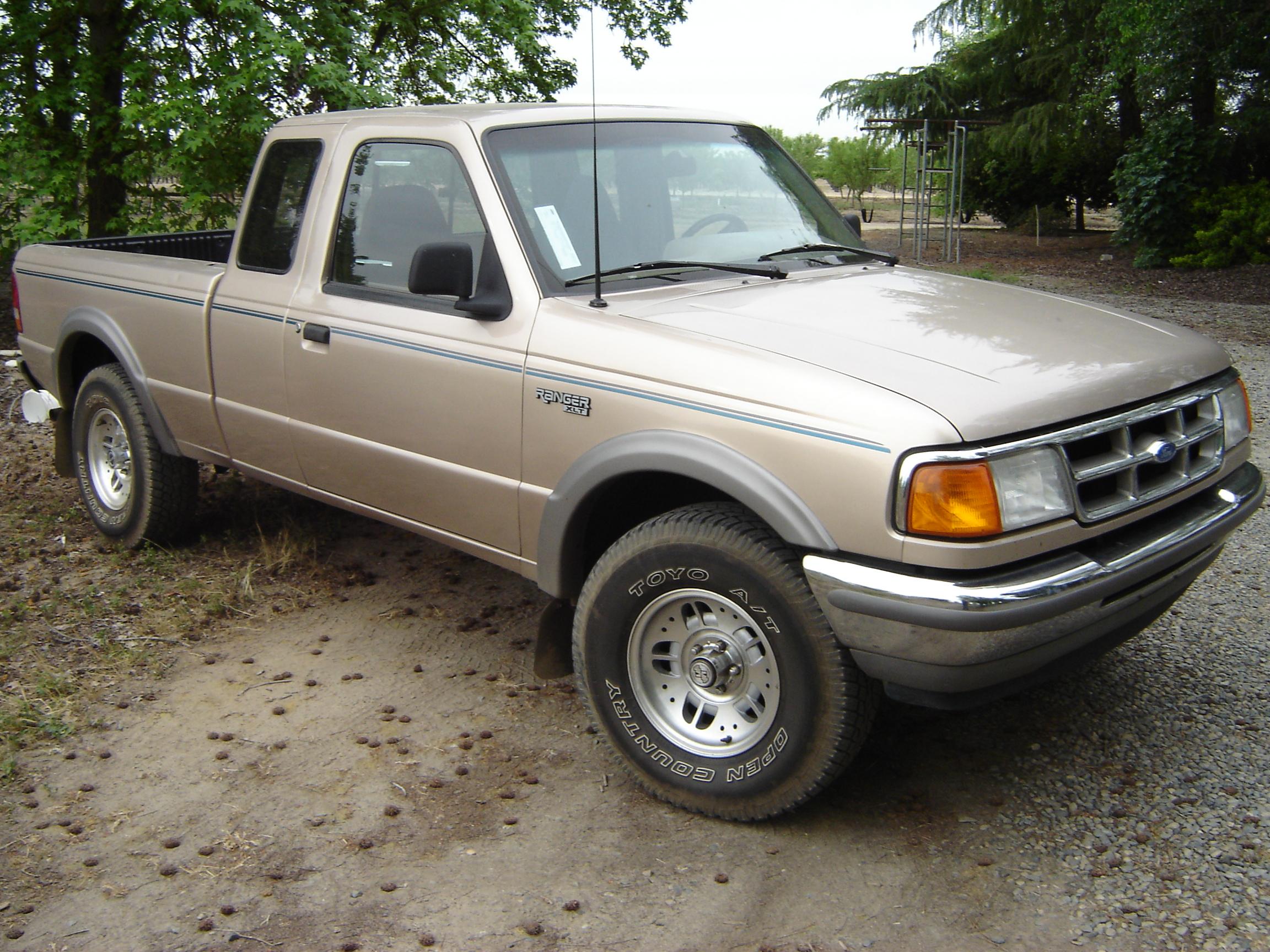 Ford Ranger (North America) I 1983 - 1988 Pickup #1