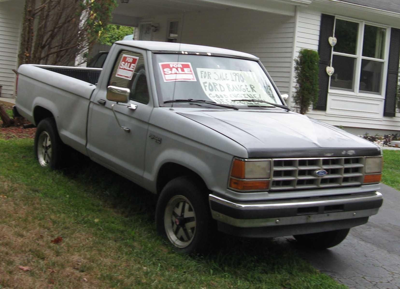 Ford Ranger (North America) I 1983 - 1988 Pickup #4