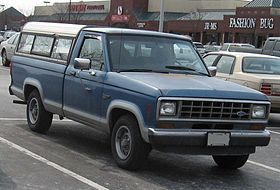 Ford Ranger (North America) I 1983 - 1988 Pickup #8