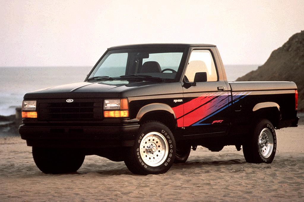 Ford Ranger (North America) I 1983 - 1988 Pickup #2