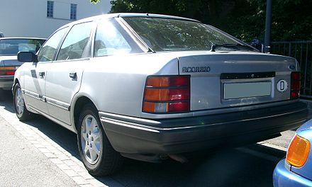 Ford Scorpio I 1985 - 1994 Hatchback 5 door #6
