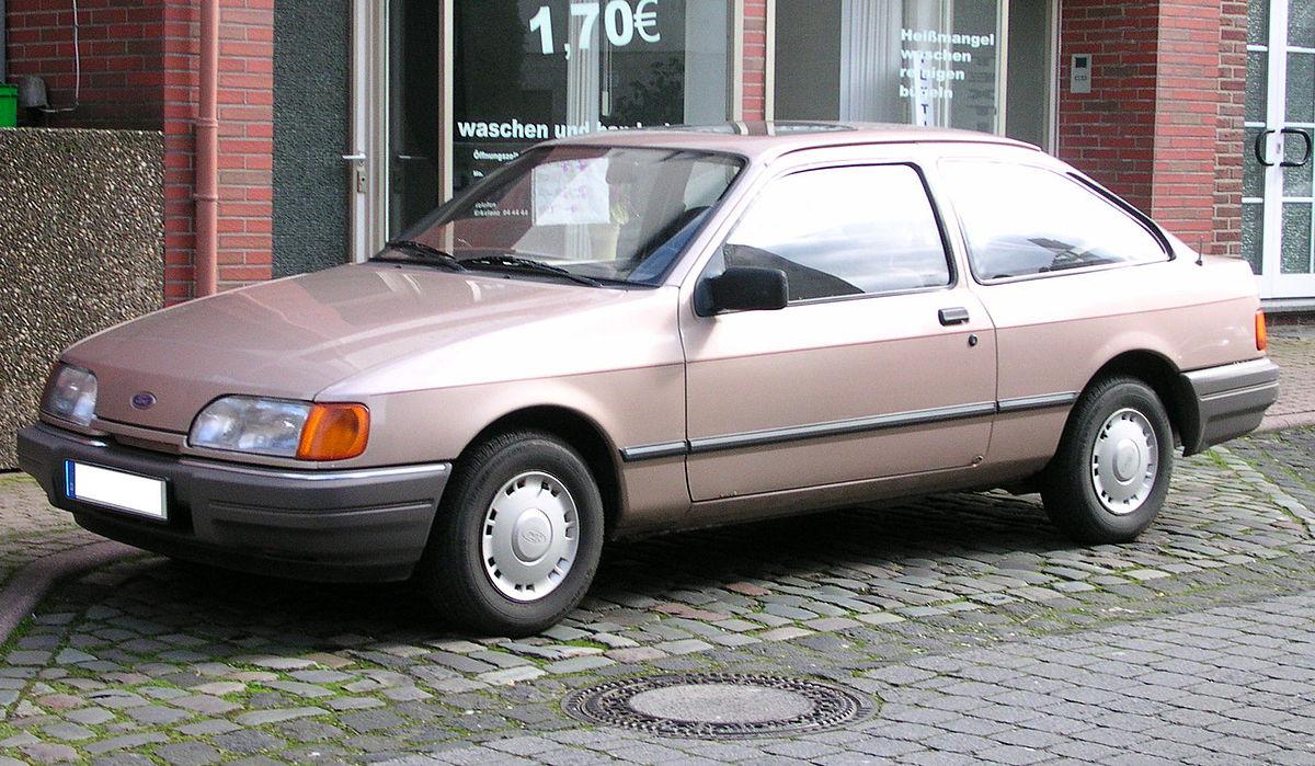 Ford Sierra I Restyling 1987 - 1993 Hatchback 5 door #8