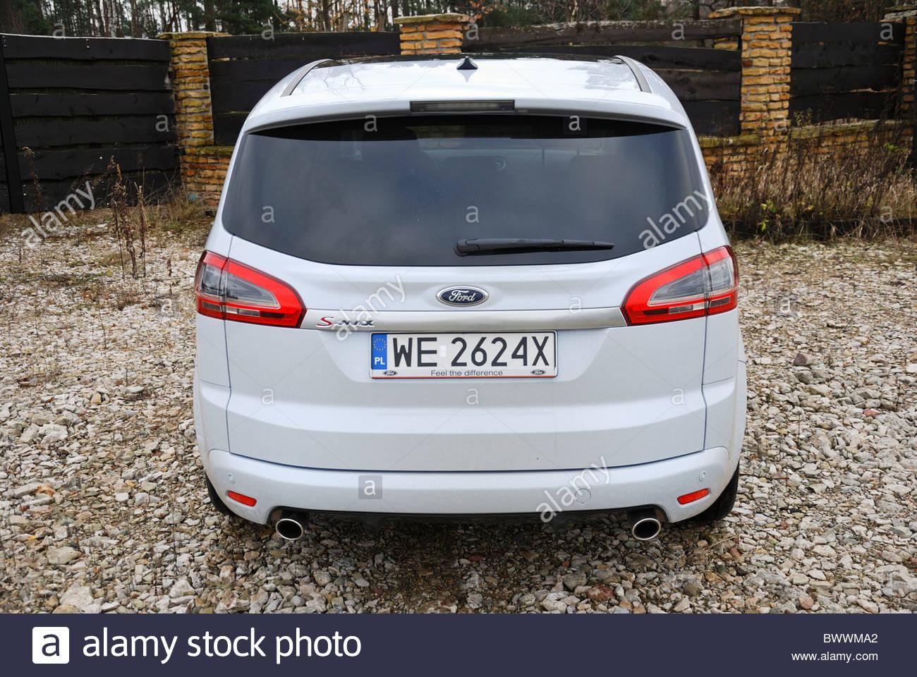 Ford S-MAX I 2006 - 2010 Minivan #1