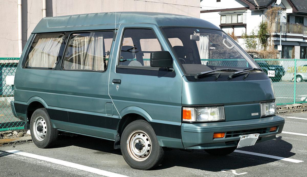 Nissan Largo II (GC22) 1986 - 1993 Minivan #8