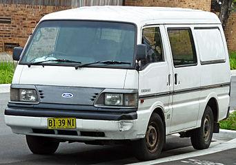 Ford Spectron 1983 - 1995 Minivan #7