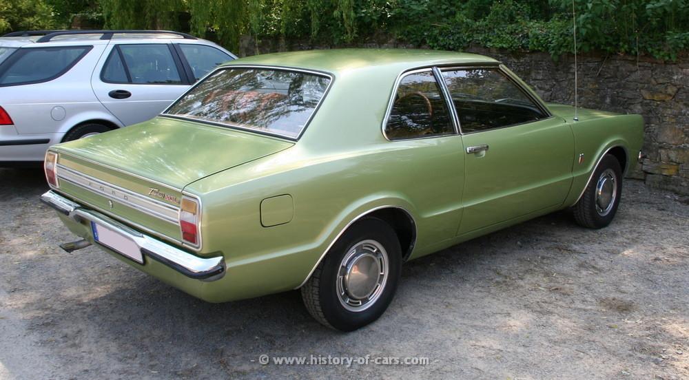 Ford Taunus I 1970 - 1976 Coupe #1