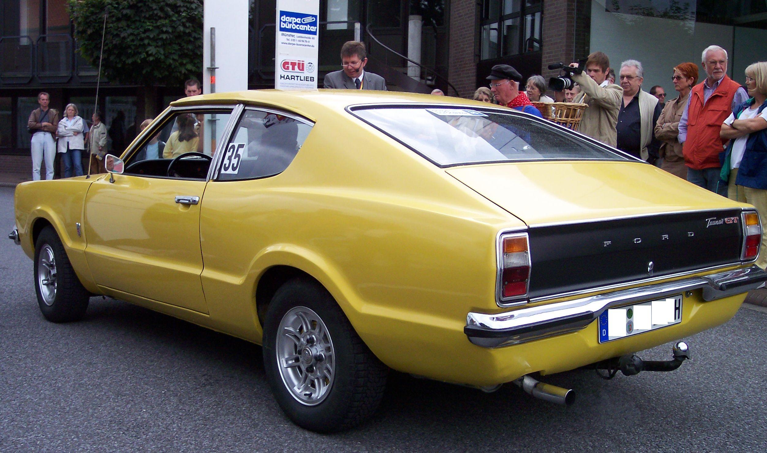 Ford Taunus I 1970 - 1976 Coupe #5