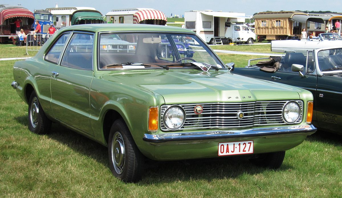 Ford Taunus I 1970 - 1976 Coupe #7