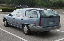 Ford Taurus II 1991 - 1995 Station wagon 5 door #6