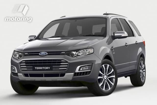 Ford Territory SZ Restyling 2014 - 2016 SUV 5 door #6