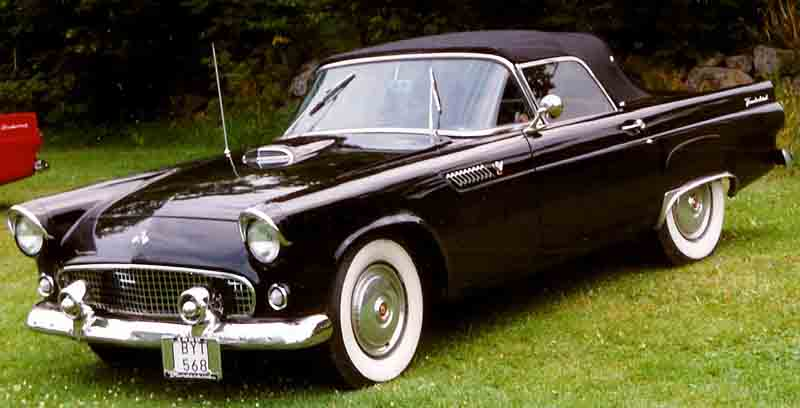 Ford Thunderbird I 1955 - 1957 Coupe #8