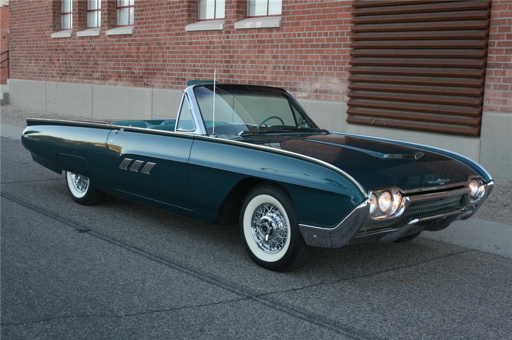 Ford Thunderbird III 1961 - 1963 Cabriolet #1