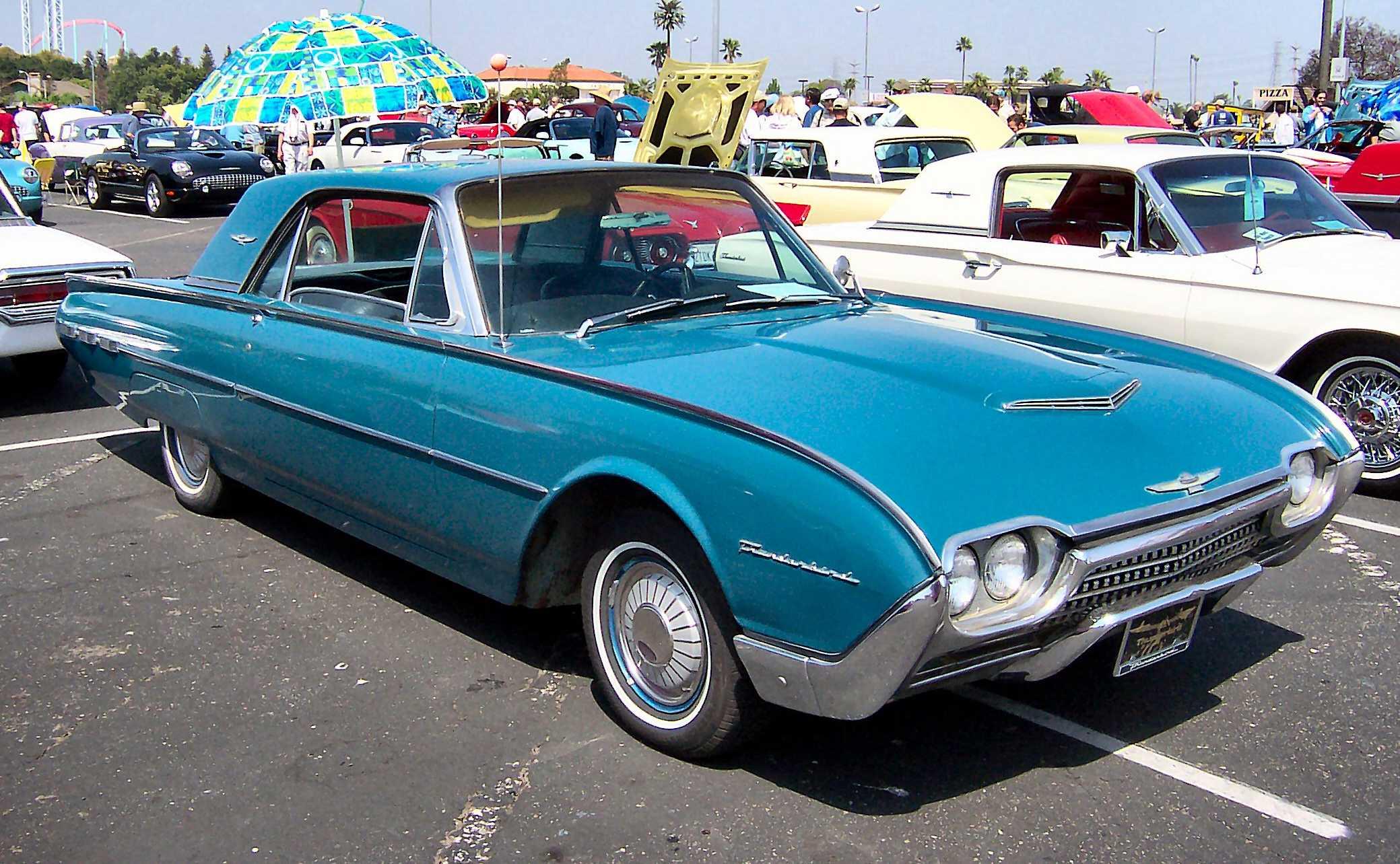 Ford Thunderbird III 1961 - 1963 Cabriolet #4