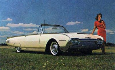 Ford Thunderbird III 1961 - 1963 Cabriolet #8
