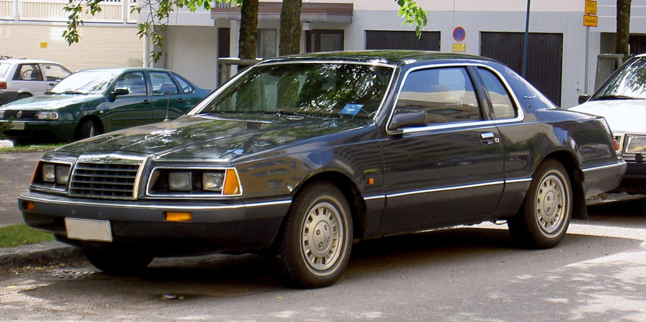 Ford Thunderbird IX (Aero Birds) 1983 - 1988 Coupe #5