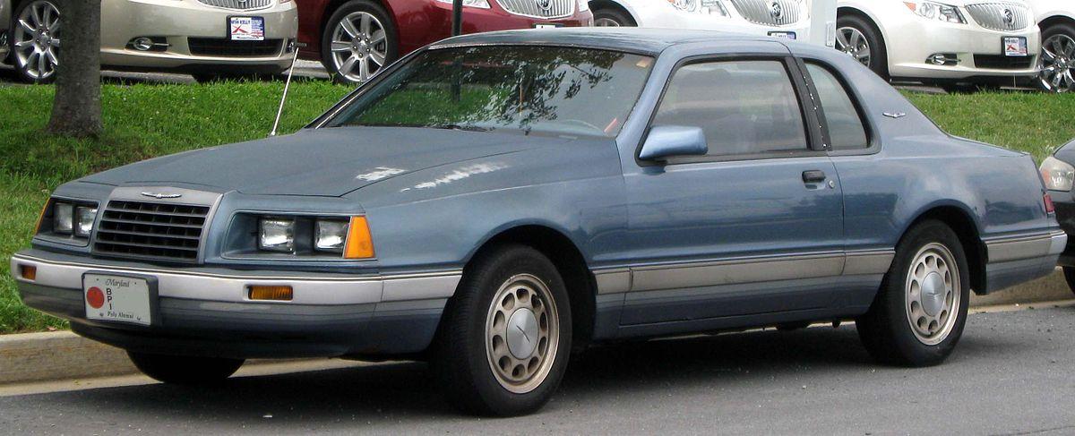 Ford Thunderbird IX (Aero Birds) 1983 - 1988 Coupe #8
