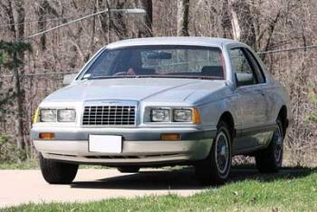 Ford Thunderbird IX (Aero Birds) 1983 - 1988 Coupe #1