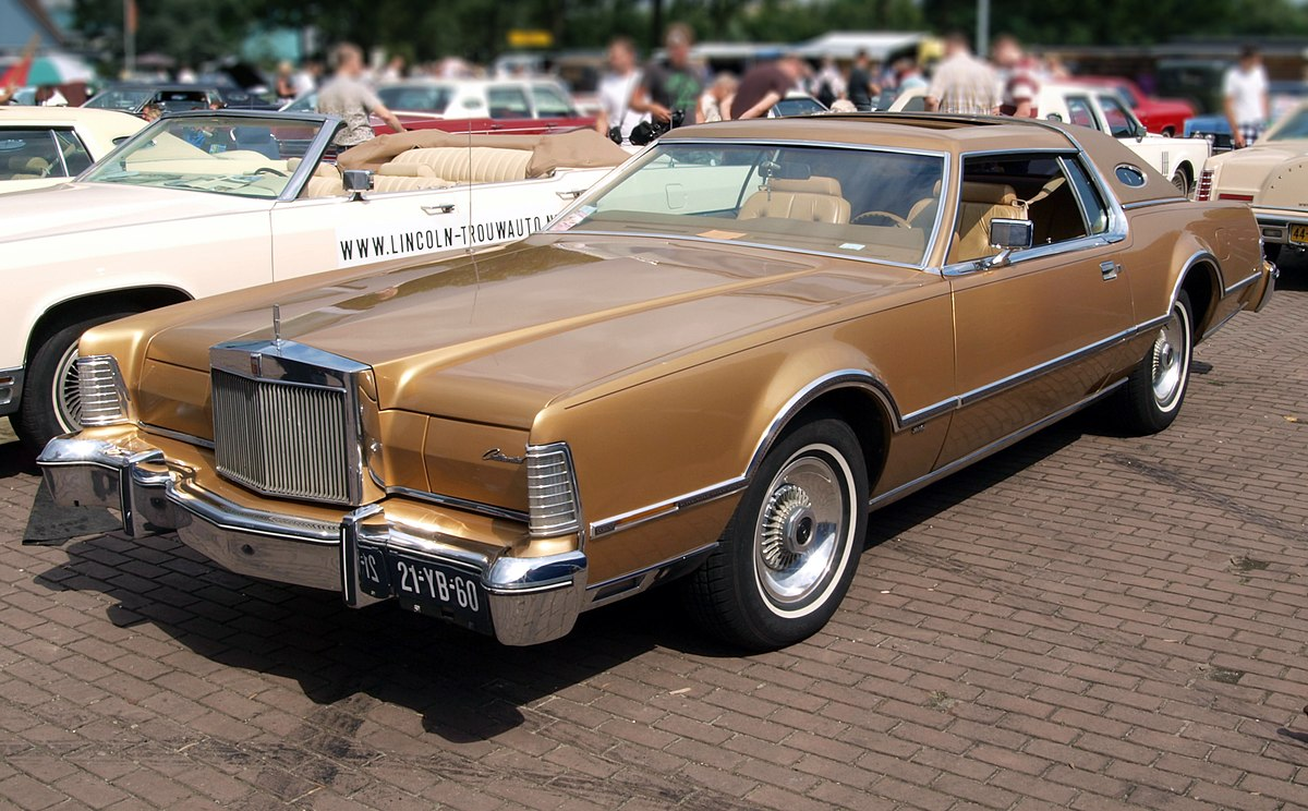 Lincoln Mark IV 1972 - 1976 Coupe #7