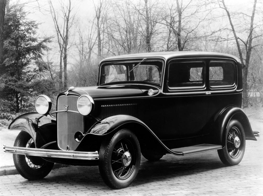 Ford V8 1932 - 1932 Sedan #5