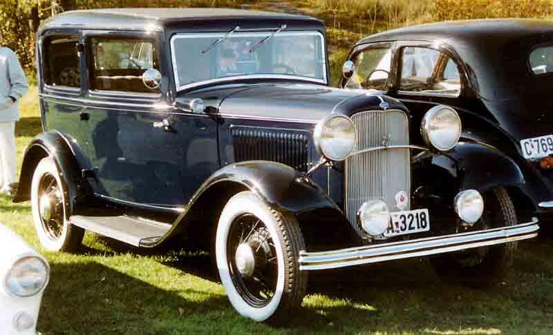 Ford V8 1932 - 1932 Sedan #3