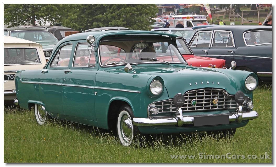 Ford Zephyr II 1956 - 1962 Sedan #4