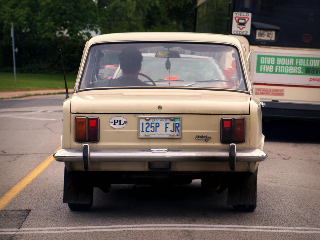 FSO 125p 1967 - 1992 Sedan #6