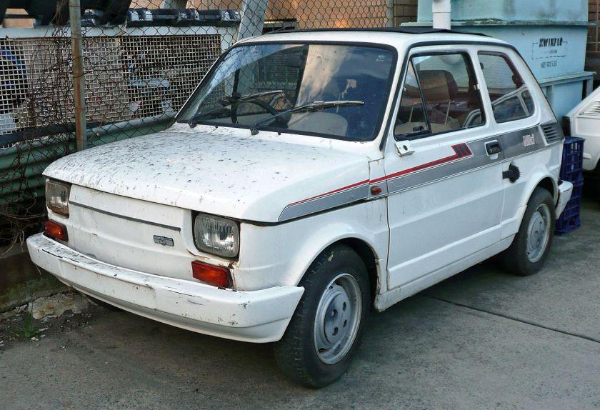 Fiat 126 I 1972 - 1996 Hatchback 5 door #1