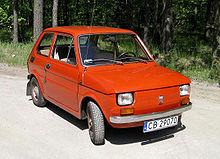 Fiat 126 I 1972 - 1996 Hatchback 5 door #7