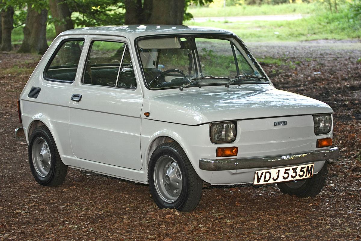 Fiat 126 I 1972 - 1996 Hatchback 5 door #8