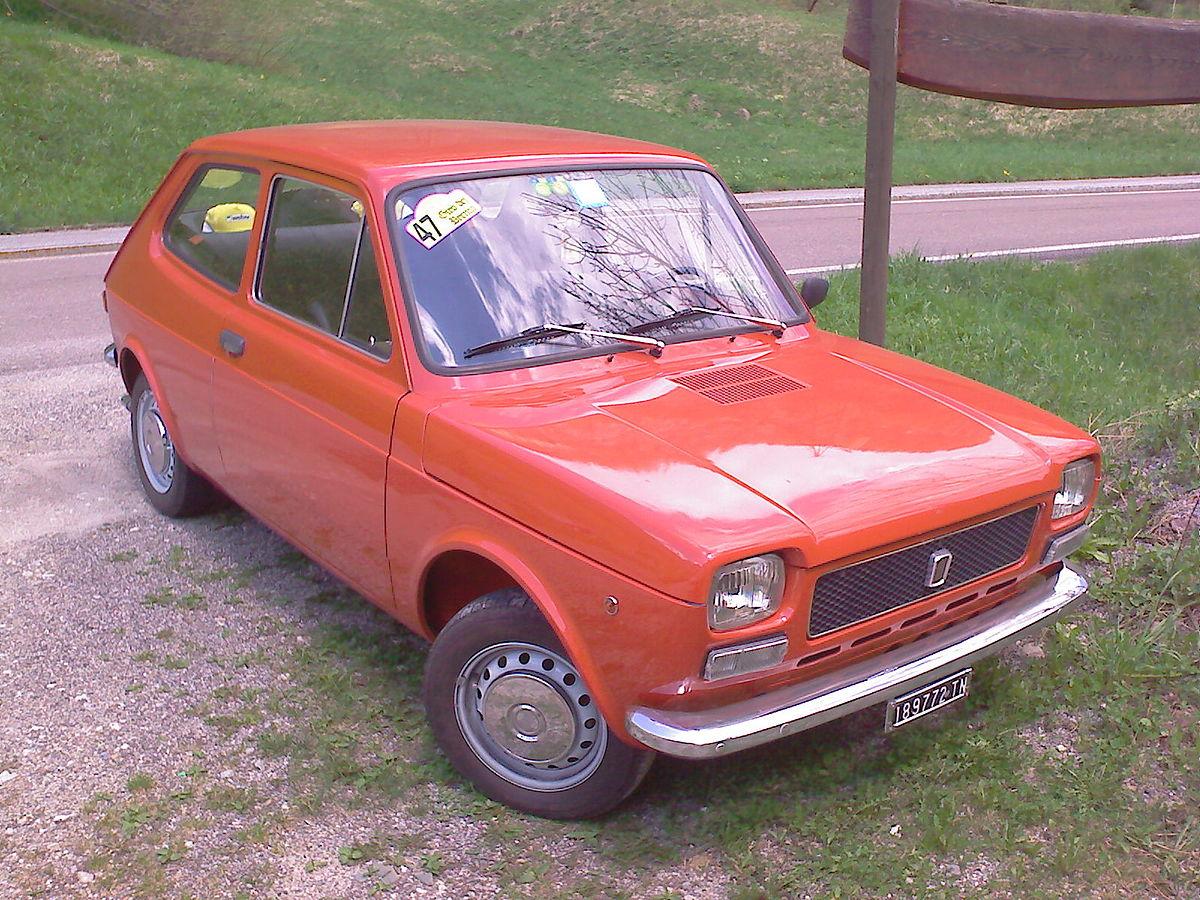 Fiat 127 1971 - 1987 Hatchback 3 door #7