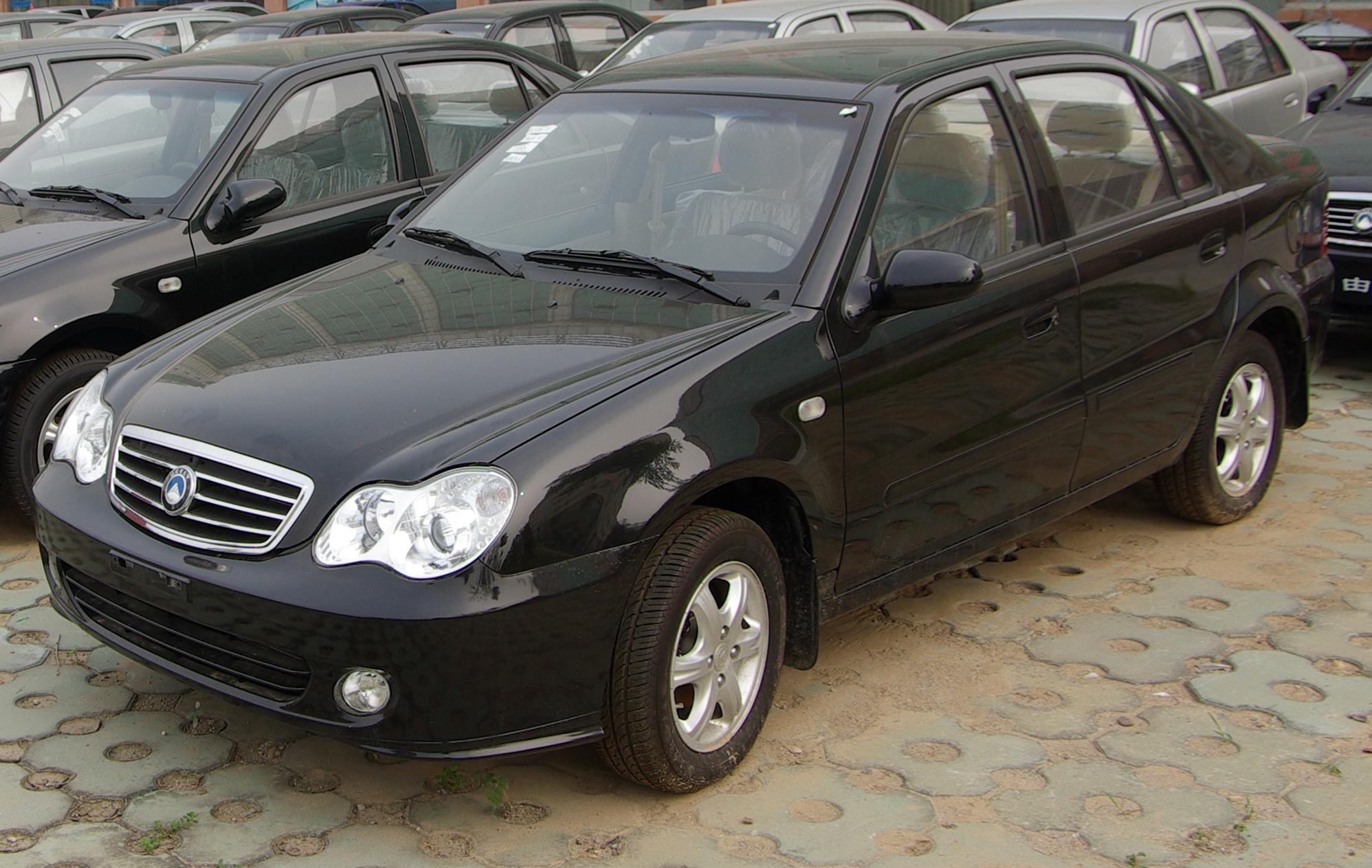 Geely CK (Otaka) I Restyling 2008 - 2016 Sedan #3