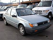 Geo Spectrum 1990 - 1993 Sedan #8