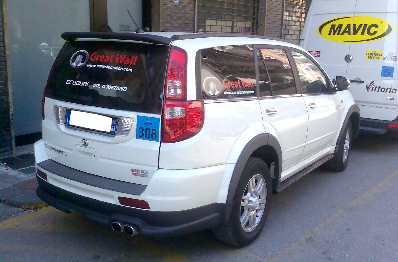 Great Wall Hover M1 (Peri 4x4) 2009 - 2010 SUV 5 door #8