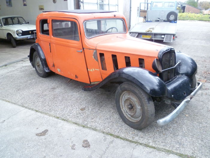 Hanomag Rekord I 1934 - 1940 Coupe #5