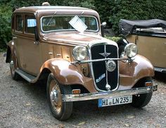 Hanomag Rekord I 1934 - 1940 Coupe #3