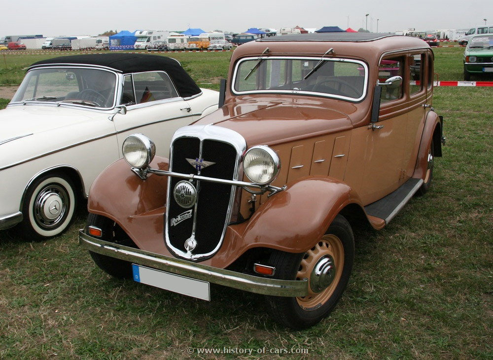 Hanomag Rekord I 1934 - 1940 Coupe #6