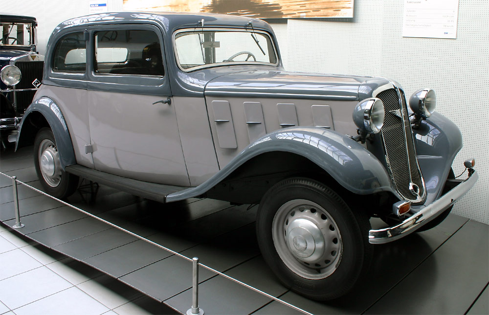Hanomag Rekord I 1934 - 1940 Coupe #8